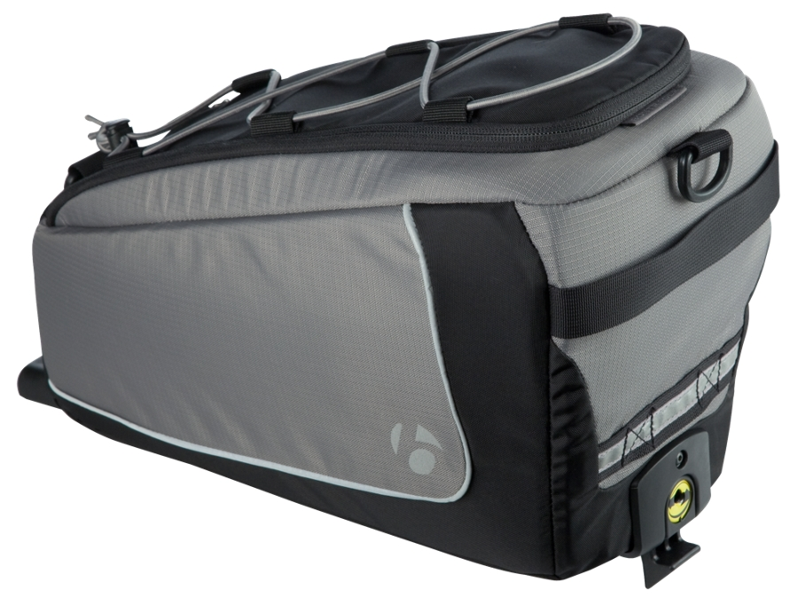 Bontrager Tasche Rack Trunk Interchange Black/Grey - Bontrager Tasche Rack Trunk Interchange Black/Grey