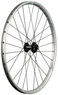 Bontrager Wheel Front Rhythm Elite 26 Disc 5mm Quick Release - Bike Maniac