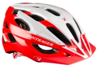 Bontrager Helm Quantum S Red/White - Bike Maniac