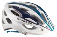 Bontrager Helm Quantum Womens S Purple/Blue/White - Bike Maniac