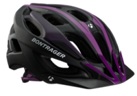 Bontrager Helm Quantum WSD S Black/Purple CE - Bike Maniac
