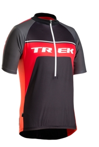 Bontrager Trikot Solstice S Trek Black/Red - Bike Maniac
