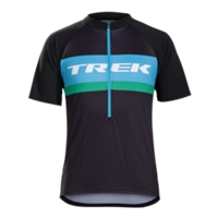 Bontrager Trikot Solstice S Trek Blue/Green - Bike Maniac
