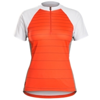 Bontrager Trikot Solstice Womens L Orange/Deep Teal - Bike Maniac