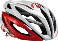 Bontrager Helm Oracle S Weiß/Rot - Mile-Multisport