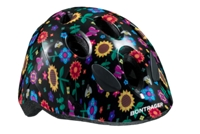 Bontrager Helm Big Dipper Black Flowers CE - Bike Maniac