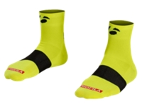 Bontrager Socke Race 6 cm L (43-45) Visibility Yellow - schneider-sports