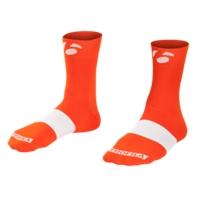 Bontrager Socke Race 6cm L (43-45) Tomato Orange - Bike Maniac