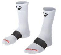 Bontrager Socke Race 13 cm XL (46-48) White - schneider-sports