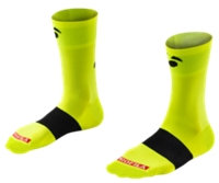 Bontrager Socke Race 13 cm XL (46-48) Visibility Yellow - schneider-sports