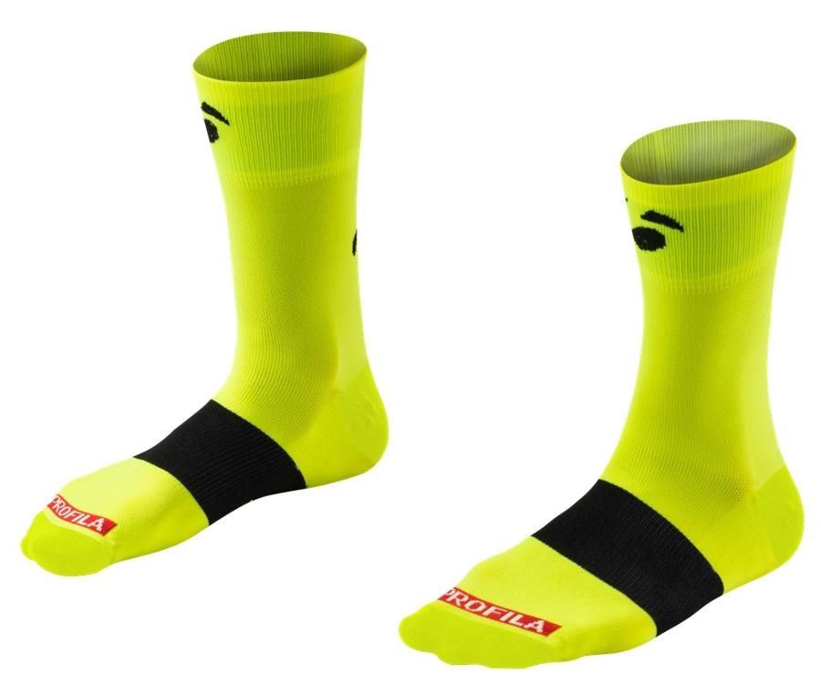 Bontrager Socke Race 13cm S (36-39) Visibility Yellow - Bontrager Socke Race 13cm S (36-39) Visibility Yellow