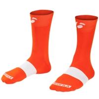 Bontrager Socke Race 13cm L (43-45) Tomato Orange - Bike Maniac