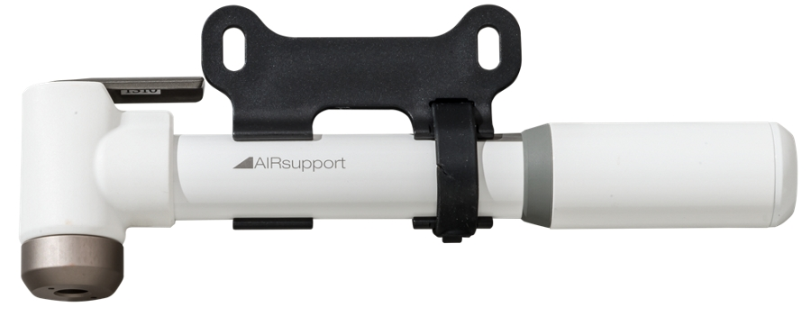 Bontrager Pumpe Air Support White - Bontrager Pumpe Air Support White