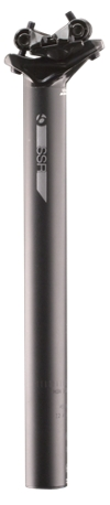 Bontrager Sattelstütze SSR 27,2x400mm 12mm Versatz Black - Bella Bici Radsport & Touren