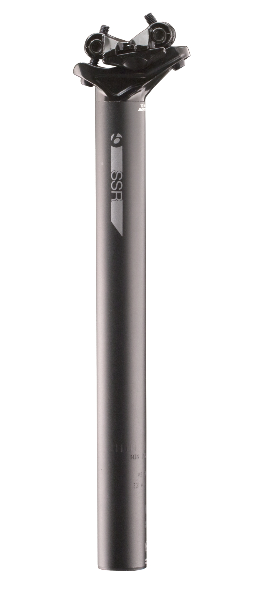 Bontrager Sattelstütze SSR 27,2x400mm 12mm Versatz Black - Bontrager Sattelstütze SSR 27,2x400mm 12mm Versatz Black