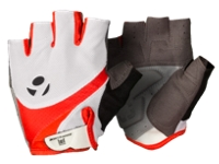 Bontrager Glove Solstice Womens Small White/Persimmon - Bike Maniac