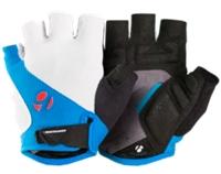 Bontrager Handschuh Race Gel XXL White/Waterloo Blue - Bike Maniac