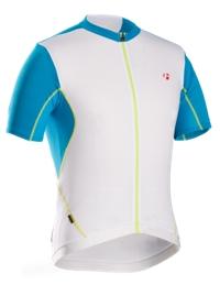 Bontrager RXL Summer Jersey L White/Cyan - Bike Maniac