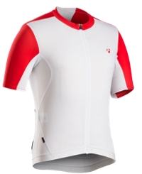 Bontrager Trikot RXL Summer XS White/Bonty Red - Bike Maniac