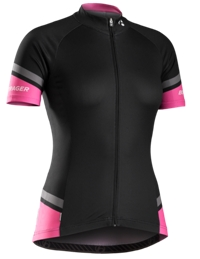 Bontrager Jersey RL Womens X-Small Black/Vice Pink - RADI-SPORT alles Rund ums Fahrrad