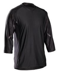 Bontrager Rhythm Tech T-Shirt 3/4 XL Black - Bike Maniac