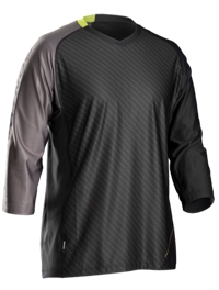 Bontrager Trikot Rhythm Tech 3/4 XL Smoke/Volt - Bike Maniac