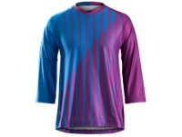 Bontrager Trikot Rhythm Tech T 3/4 XXL Lotus Stripe - Bike Maniac