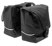 Bontrager Town Double Throw Pannier Black - Bike Maniac