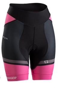Bontrager Short RL Womens X-Small Black/Vice Pink - Bike Maniac