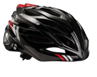 Bontrager Helm Circuit Black/White/Red S CE - Bike Maniac