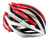 Bontrager Helm Velocis L White/Red/Silver - schneider-sports