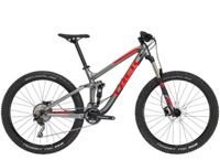 Trek Fuel EX 5 27.5 Plus 15.5 Matte Anthracite - Radel Bluschke