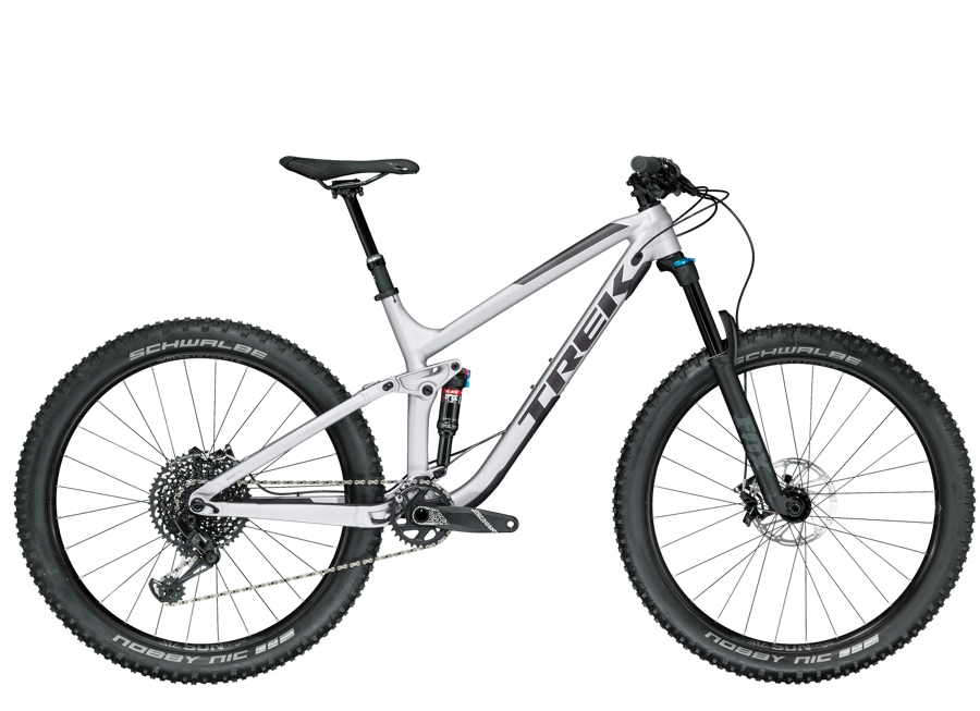 Trek Fuel EX 8 27.5 Plus 19.5 Matte Quicksilver - Trek Fuel EX 8 27.5 Plus 19.5 Matte Quicksilver