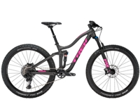 Trek Fuel EX 8 Womens 14 Matte Dnister Black - Bike Maniac