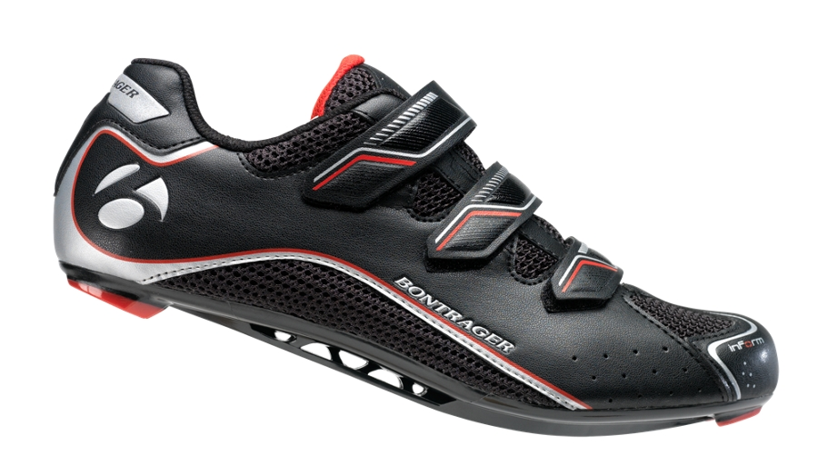 Bontrager Schuh Race Road Mens 45 Black - Bontrager Schuh Race Road Mens 45 Black