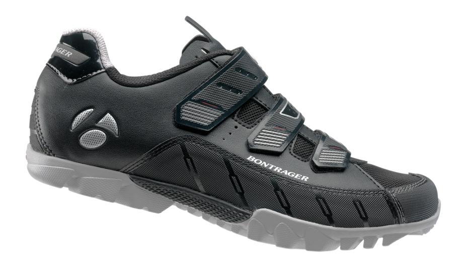 Bontrager Schuh Evoke MTB Mens 44 Black - Bontrager Schuh Evoke MTB Mens 44 Black