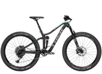 Trek Fuel EX 9.8 Womens 14 Matte Trek Black/Sprintmint - Bike Maniac
