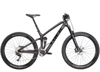 Trek Fuel EX 9.8 27.5 Plus 15.5 Matte/Gloss Black - Bike Maniac