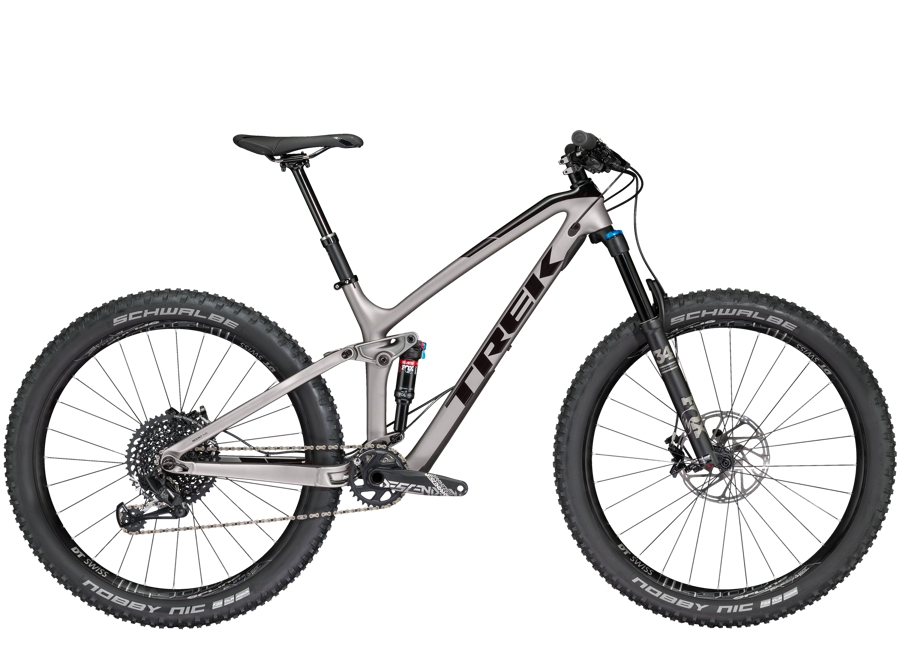 Trek Fuel EX 9.8 27.5 Plus 18.5 Matte Gunmetal/Gloss Black - Trek Fuel EX 9.8 27.5 Plus 18.5 Matte Gunmetal/Gloss Black