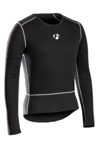 Bontrager Funktionswäsche B2 Windshell Long Sleeve XS Black - Bike Maniac