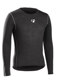 Bontrager Funktionswäsche B2 Long Sleeve XS Black - Bike Maniac