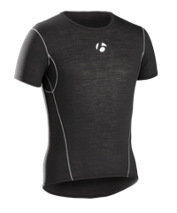Bontrager Funktionswäsche B2 Short Sleeve XS Black - Bike Maniac