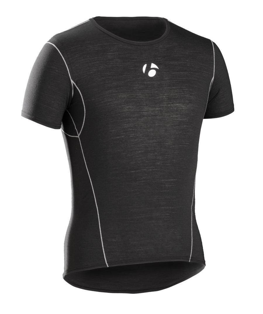 Bontrager Funktionswäsche B2 Short Sleeve S Black - Bontrager Funktionswäsche B2 Short Sleeve S Black