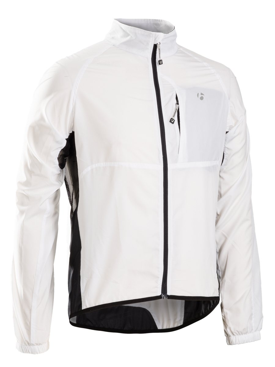 Bontrager Jacke Race Windshell XL White - Bontrager Jacke Race Windshell XL White