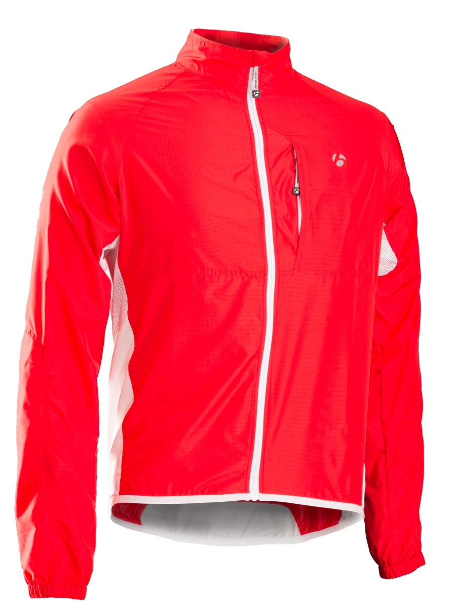 Bontrager Jacke Race Windshell X Bonty Red - Bontrager Jacke Race Windshell X Bonty Red