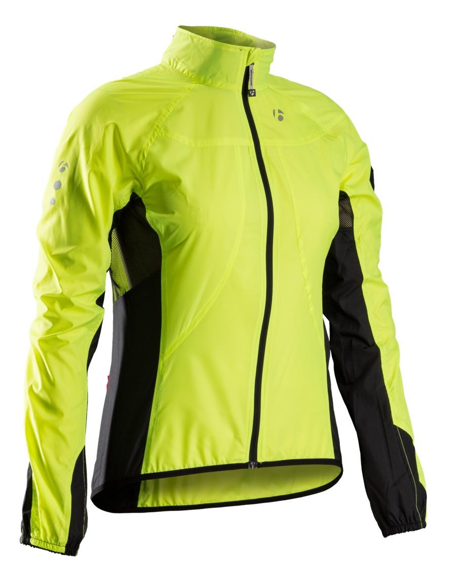 Bontrager Jacke Race Windshell Womens L Visibility Yellow - Bontrager Jacke Race Windshell Womens L Visibility Yellow