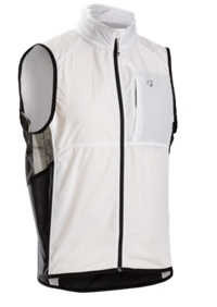 Bontrager Weste Race Windshell XL White - Bike Maniac