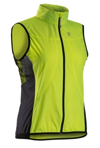 Bontrager Weste Race Windshell Womens L Visibility Yellow - Bike Maniac