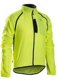 Bontrager Jacke Race Convertible Windshell XL Vis Yellow - Bergmann Bike & Outdoor
