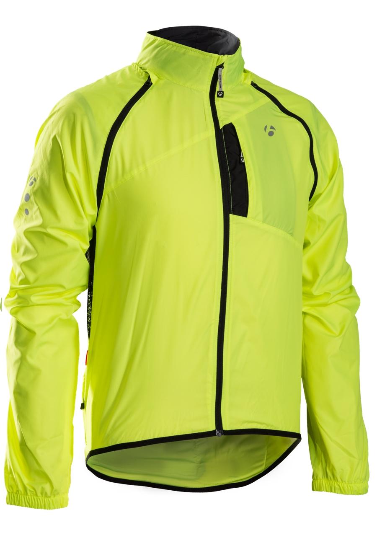 Bontrager Jacke Race Convertible Windshell XL Vis Yellow - Bontrager Jacke Race Convertible Windshell XL Vis Yellow